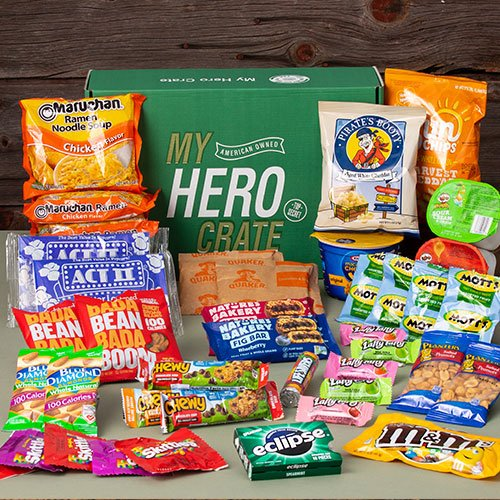 military snack box