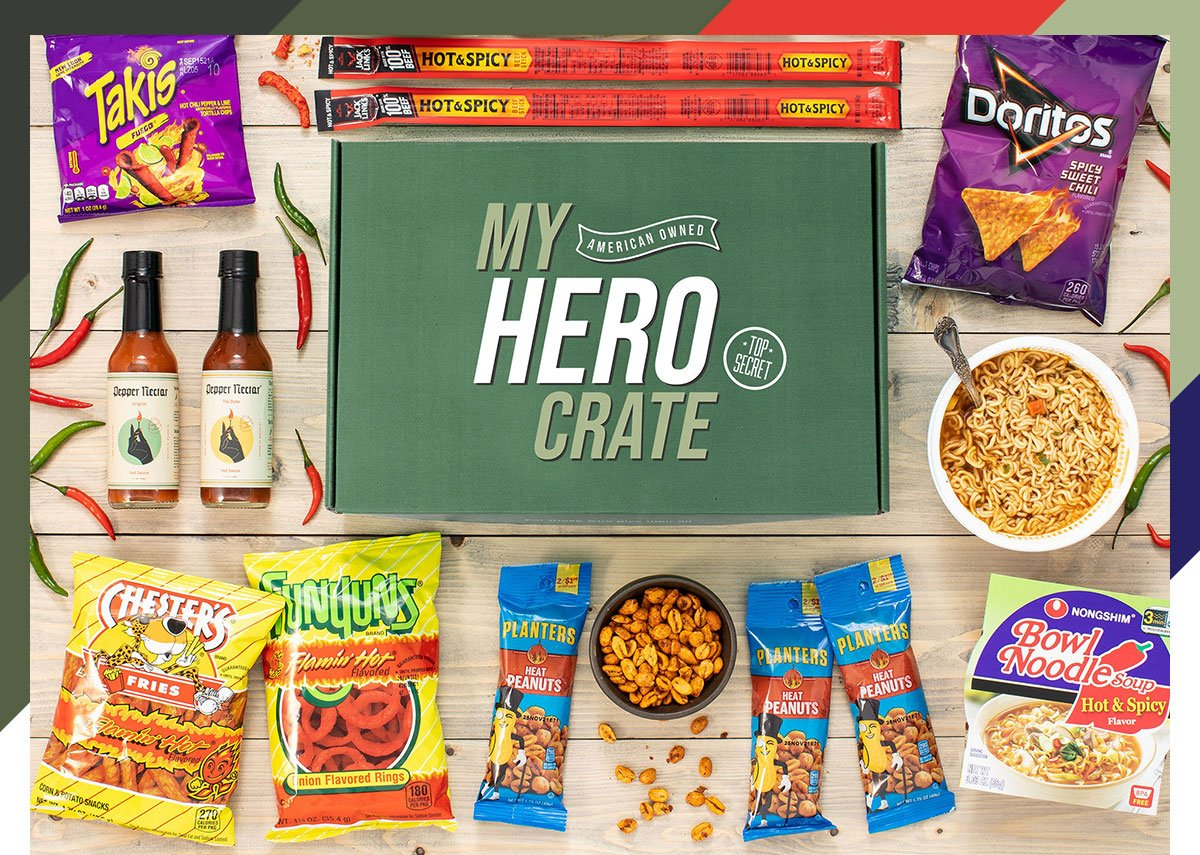 Five Reasons Our New Spicy Snack Box is the Perfect Father's Day Gift